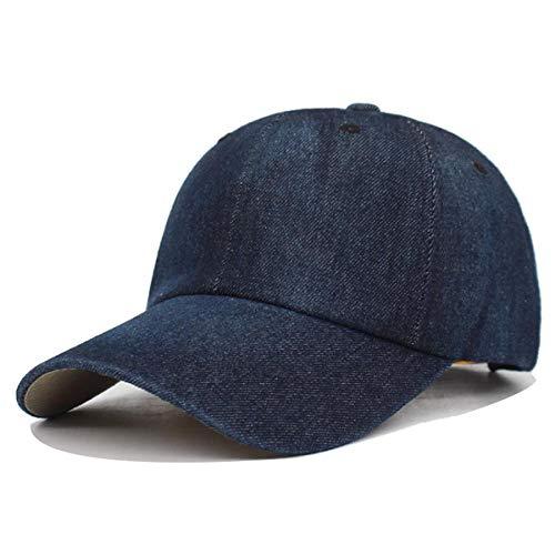 CapHerren Kappe Gewaschene Jeans Baseballmütze Männer Papa Snapback Hüte Mützen Für Frauen Falt Bone Denim Plain Männliche Mütze Hut