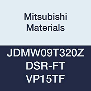 0.313 Inscribed Circle Round Chamfer Honing Class M 0.109 Thick Pack of 10 Mitsubishi Materials RPMT07T200E-JS VP15TF Coated Carbide Milling Insert Grade VP15TF