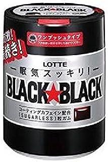 ロッテ ブラックブラック 粒 ワンプッシュボトル 140g×6個入