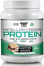 Amazing Micellar Casein Protein Powder for Men and Women Made with Probiotic's, Digestive Enzymes & Organic Stevia. Slow Digesting Protein Shake for Healthy Gut Bacteria