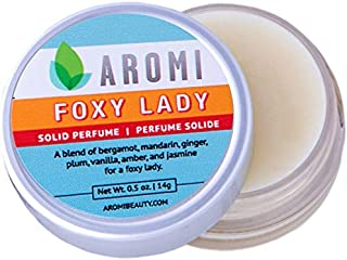 Foxy Lady Solid Perfume   Vegan, Cruelty-free, Floral Fragrance, Honeysuckle, Jasmine, Travel...