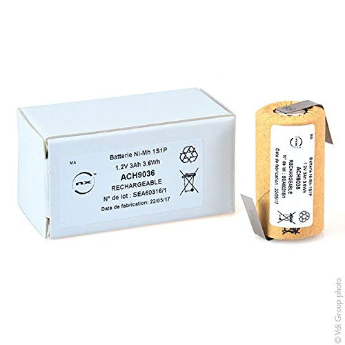NX - NX - Accus NiMH SC HD CARTONNE 1.2V 3000mAh HBL