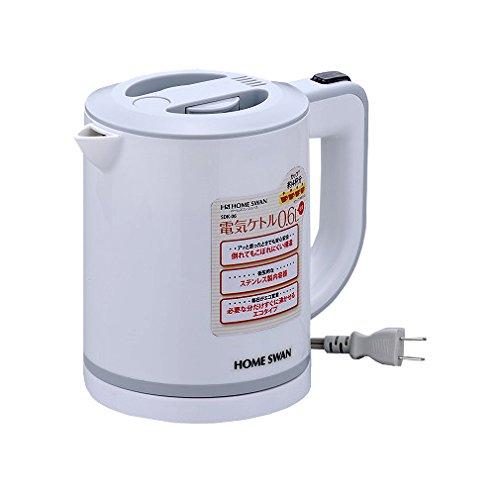 ホームスワン 電気ケトル 0.6L SDK-06