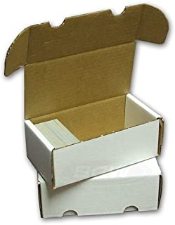 BCW 400-Count Storage Box for Trading Cards | 200 lb. Test Strength | (4-Count)