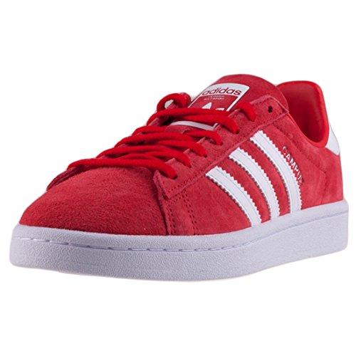 adidas Campus W, Zapatillas de Deporte para Mujer, Rojo (Rojray / Ftwbla / Ftwbla 000), 40 2/3 EU