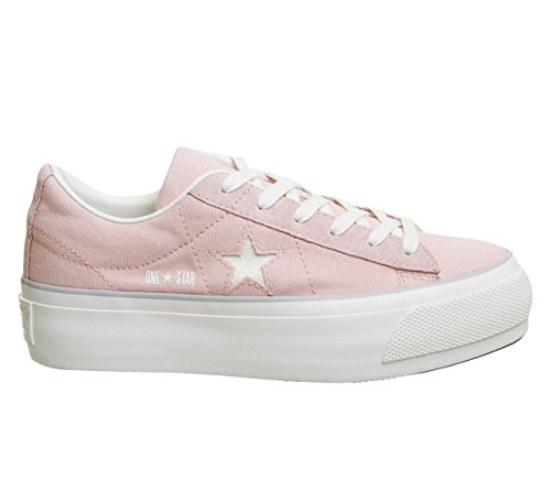 Converse 560987C One Star Platform OX Sneakers Mujer Peach 38