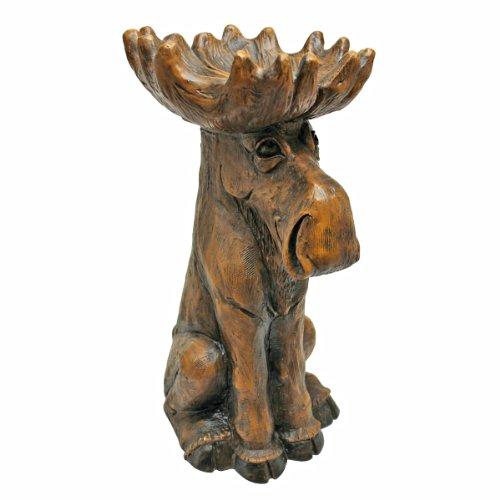 Design Toscano Cabin Fever Moose Garden Statue