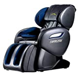 Electric Full Body Shiatsu Massage Chair Foot Roller Zero Gravity w/Heat (Black)