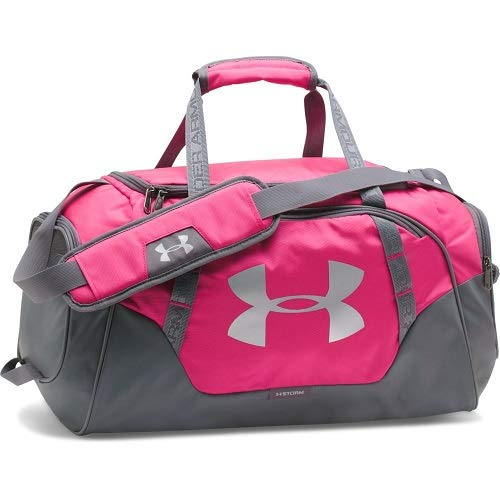 Under Armour UA Undeniable – Bolsa para viaje de 3.0, color Tropic Pink, tamaño talla única