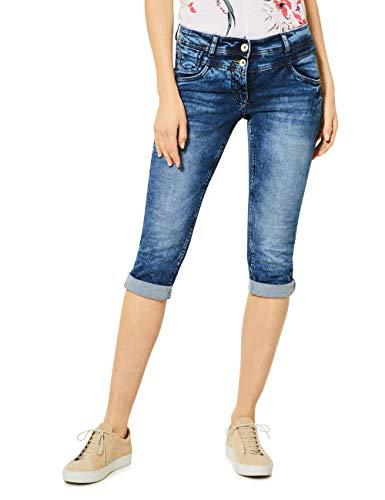 Cecil Damen 372995 Scarlett Jeans, Authentic mid Blue wash, W31/L22