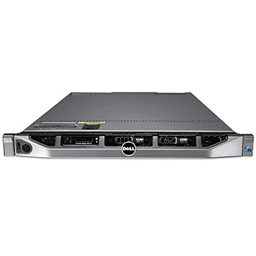 Null dell PowerEdge R610 + Rail Kit + Bezel, 6xSFF, 2xIntel Xeon 6Core, RAM 32GB, HDD 2x 900GB SAS, Rack 1U, H700 Ctrl Raid, 2X PSU. Win Server 2019 Std (Reacondicionado Certificado)