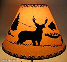 18 Inch Deer Rustic Lamp Shade.....Click on Photos to View Sizing and Style Options!