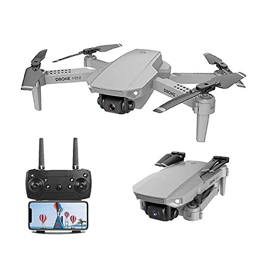 Drone, Mini Drone, Drone con Fotocamera, WiFi Dotato Fotocamera HD 4K Grandangolare, Zoom 50X, modalità High-Hold, Drone con Braccio Pieghevole, Adatto per Adulti, Bambini e Principianti