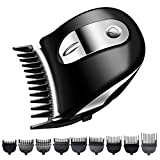 Silver Homme Self-Haircut Kit,Hair Clippers for Men, Professional Cordless Haircut Grooming Kit, 100% Washable