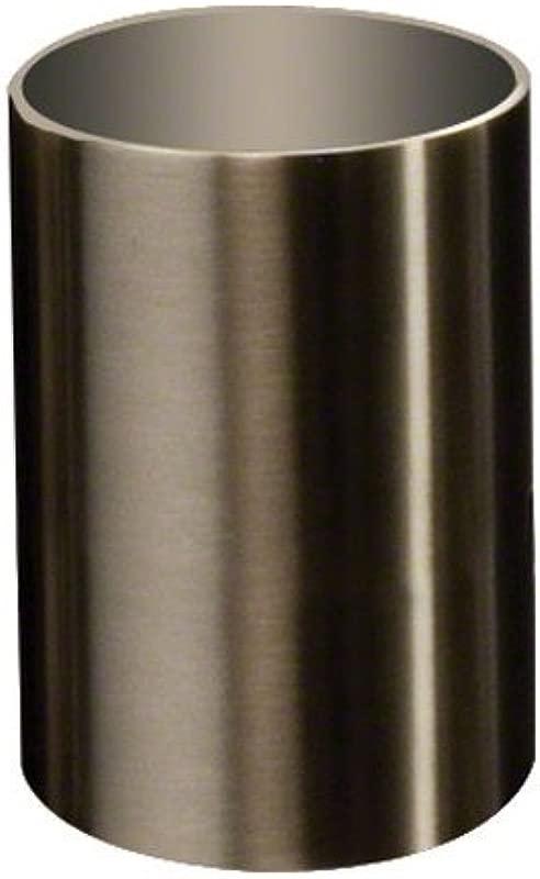 American Metalcraft SSPH2 Stainless Steel Cylinder Sugar Cube Holder 2 Diameter Satin Finish