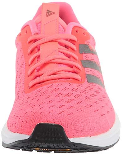 adidas mens Trainer X Road Running Shoe, SIGPNK/CBLACK/FTWWHT, 11.5 US