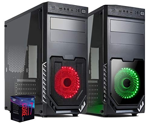 PC Desktop Cpu Intel Six Core i7 9700 Fino a 4,70 GHZ/Nvidia Gtx 1650 4Gb / Ram 16GB DDR4/ SSD 480 GB/Wi-Fi Usb 3.0 Hdmi/Licenza Windows 10 Pro Esd/Computer Ufficio Casa Gaming Completo