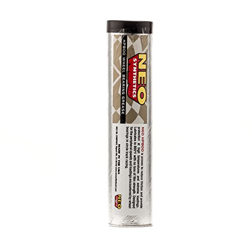 Neo Synthetics HP800 High Performance Wheel Bearing Grease, 14 Oz Grease