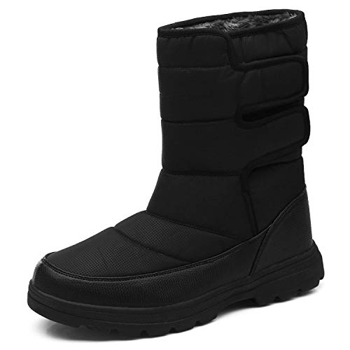 YIRUIYA Mens Insulated Snow Winter Cold Weather Boots