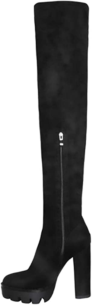 OLCHEE Surprise price Women's Sexy Thigh High Boots Over Platform Knee the - Ch Max 65% OFF