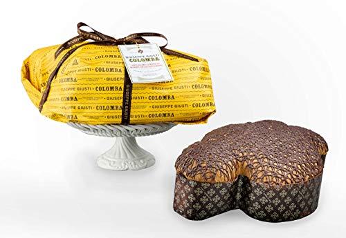 Giusti - Colomba con 'Aceto Balsamico di Modena IGP' e glassa al cioccolato fondente - 1kg