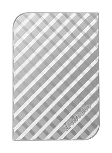 Verbatim 53197 1 To USB 3.0 Portable Hard Drive - Argent