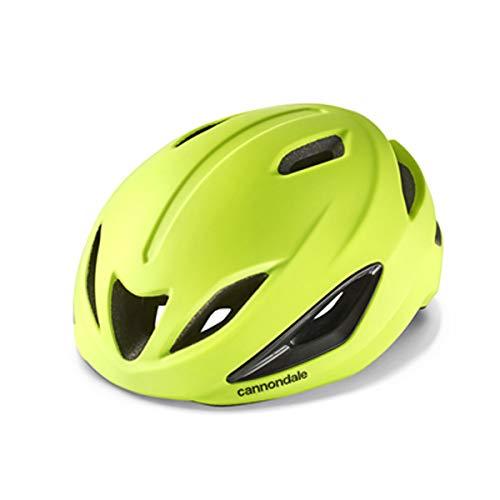 Cannondale Intake Rennrad Fahrrad Helm gelb 2021: Größe: S/M (52-58cm)