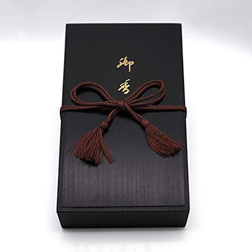 八木研 現代仏壇 モダン仏具 特撰花琳桐塗箱10入 線香 贈り物 4972853320320