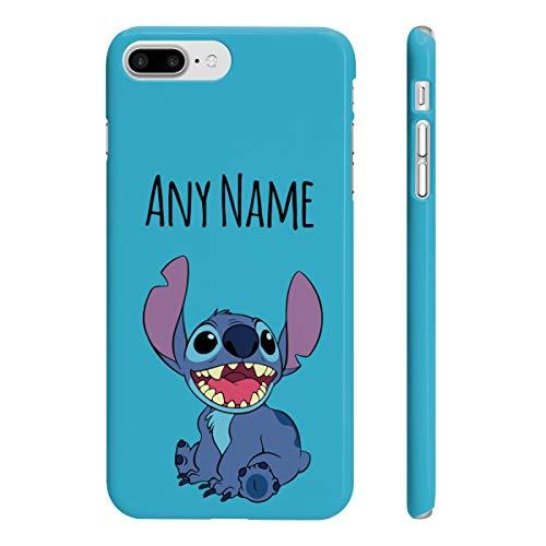 Phone Kandy - Carcasa rígida para iPhone y Samsung, diseño de dibujos animados, Puntada azul., iPhone 7 Plus