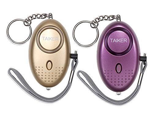 Taiker Personal Alarm for Women 140DB Emergency Self-Defense Security Alarm Keychain