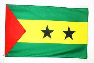 AZ FLAG Bandera de Santo TOMÉ Y PRÍNCIPE 150x90cm - Bandera SANTOTOMENSE 90 x 150 cm