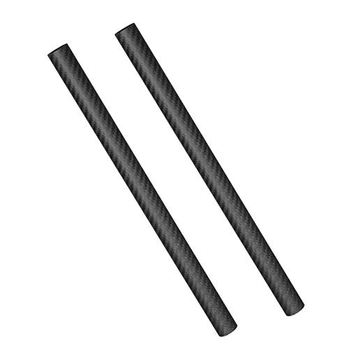 Carbon Fiber Tube 500Mm - 3K Roll Wrapped Carbon Fiber Tube Matte Surface-(2) Tube,20mm×18mm×500mm
