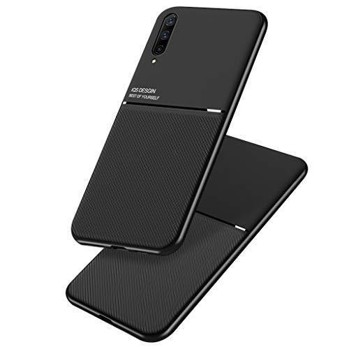 Capa para Xiaomi Mi A3, Capa Protetora Negócios com Absorção de Choque e TPU Macio e resistente a arranhões para Xiaomi Mi A3/Mi CC9e - Preto