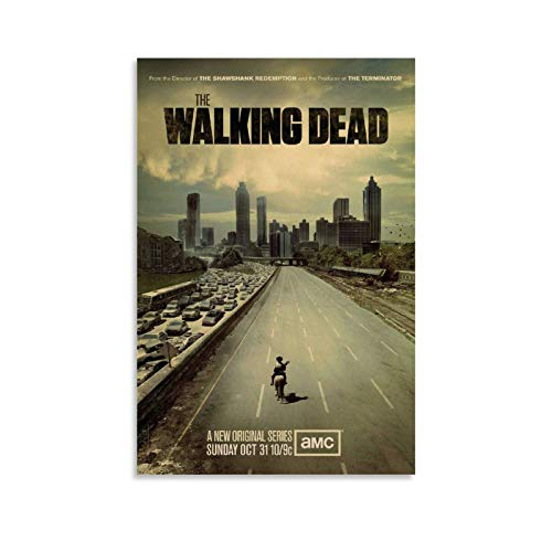 Classic TV Series Posters The Walking Dead Season 1 Poster Decorative Painting Canvas Wall Art Living Room Posters Bedroom Painting 12x18inch(30x45cm)