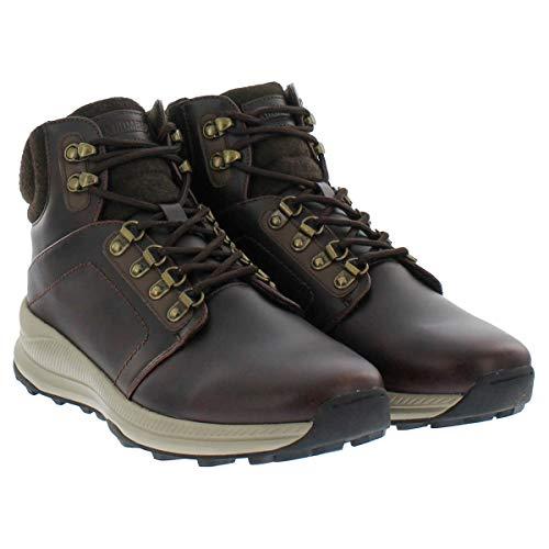 Khombu Men's Memory Foam Lightweight Hiker Boot - Brown or Grey (12, Brown)