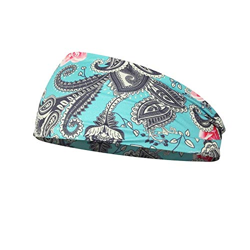 DNAEGH Diademas,Tocado de Mujer Turbante elástico Accesorios para el Cabello Sombreros, Vendas Bandas para el Cabello Diademas Banda Ancha para la Cabeza.13