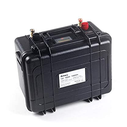 12V Lifepo4 Belly Boot Akku mit 100Ah Power kaufen