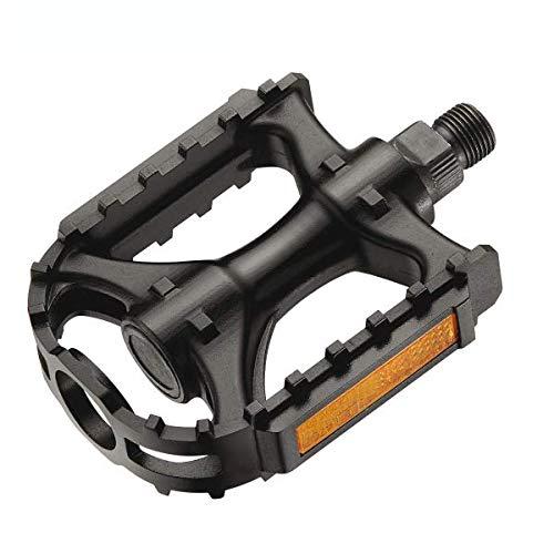 XERAMA - Pedali per mountain bike ultraleggeri, in nylon, monoblock, MTB/BTT con Reflex