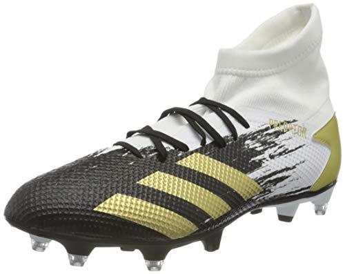 adidas Herren Predator 20.3 SG Soccer Shoe, FTWWHT/Goldmt/CBLACK, 41 1/3 EU