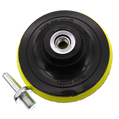 4' Hook and Loop Backing Pad 4-Inch/100mm Orbital Sander Polisher Sanding Pad M10 Drill Adapter sanding backing pad 1pack