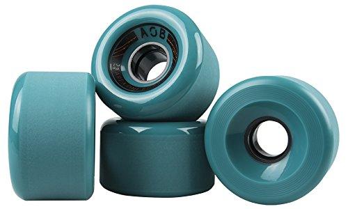 AOB Longboard Rollen Banshee 70mm/83a (Blau)