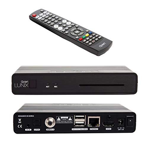 qviart Lunix HbbTV Full HD 1080p H265 HEVC OTT IPTV E2 Linux Sat Receiver