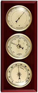 Ambient Weather YG315 Cherry Finish Dial Traditional Weather Station