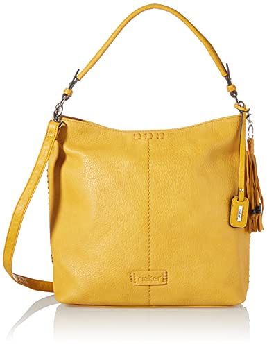 Rieker Damen H1061 Handtasche, Gelb, 300x112x300