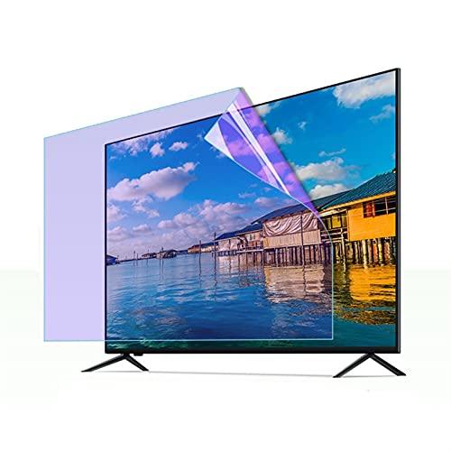 ELISYG Protector de Pantalla de TV 40 Pulgadas Pantalla Curva, Protectora De Pantalla De TV Anti luz Azul Antirreflejos Anti-rasguños para LCD, LED, OLED Y QLED 4K HDTV (Size : 883 * 490mm)
