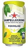 サンペレグリノ スパークリングフルーツベバレッジ ポンペルモ(グレープフルーツ)1ケース(24缶セット)
