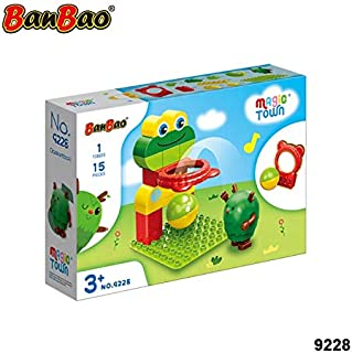 Banbao Magic Town Basketball, Multi-Colour, 9228, 15 Pieces