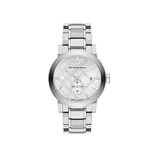 Burberry BU9900–Uhr für Männer, Edelstahl-Armband Silber