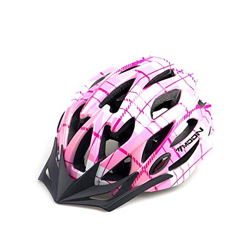 Bicycle Helmet Cycling Helmets with CE Certified Removable Sun Visor for Women Adult Girl Road & Mountain Bicycle Helmet Adjustable Size Bike Helmets