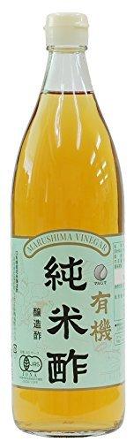 マルシマ 有機純米酢 900ml ×8セット